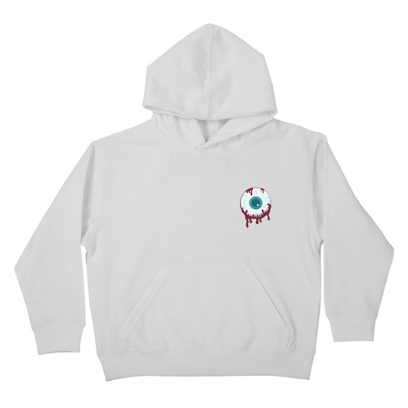 Enucleation Kids Pullover Hoody by Ominous Artist Shop