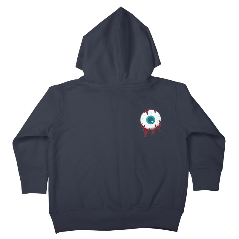 Enucleation Kids Toddler Zip-Up Hoody by Ominous Artist Shop