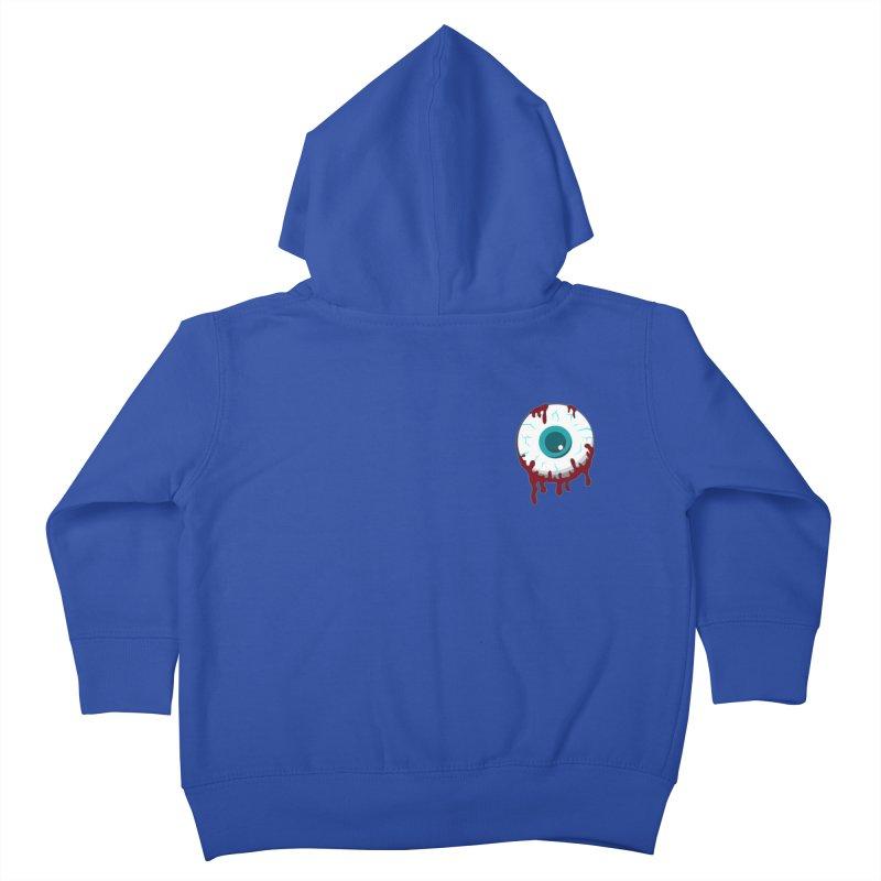 Enucleation Kids Toddler Zip-Up Hoody by Ominous Artist Shop