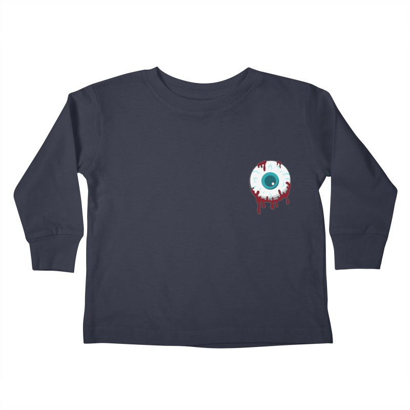 Enucleation Kids Toddler Longsleeve T-Shirt by Ominous Artist Shop