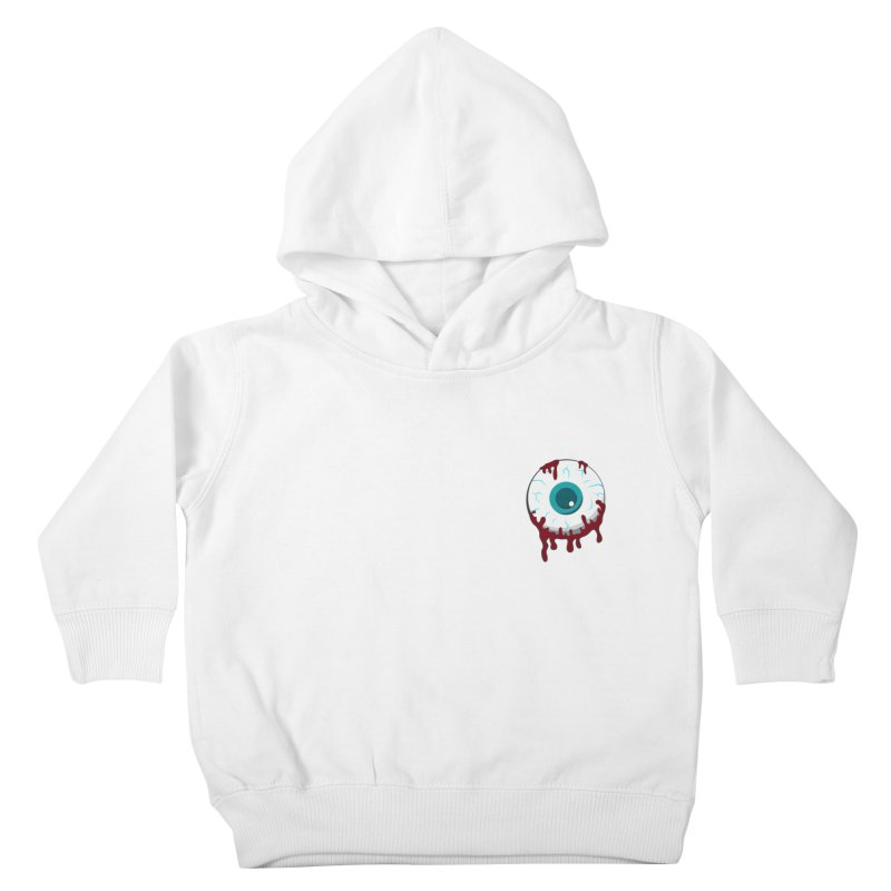 Enucleation Kids Toddler Pullover Hoody by Ominous Artist Shop