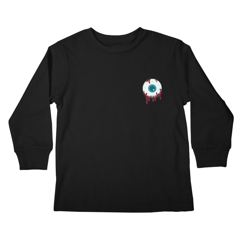 Enucleation Kids Longsleeve T-Shirt by Ominous Artist Shop