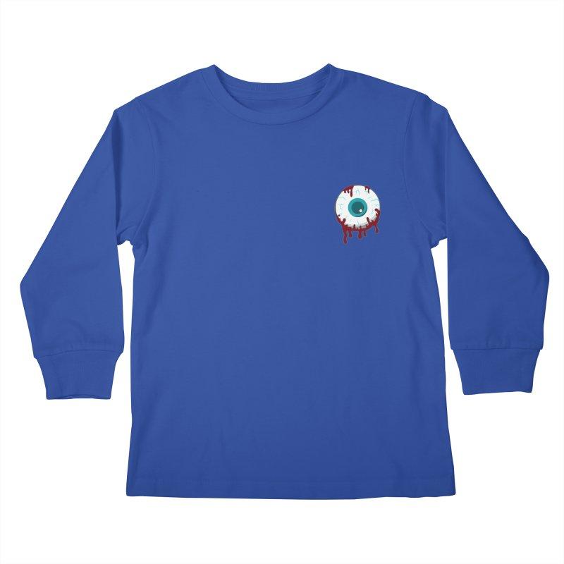 Enucleation Kids Longsleeve T-Shirt by Ominous Artist Shop