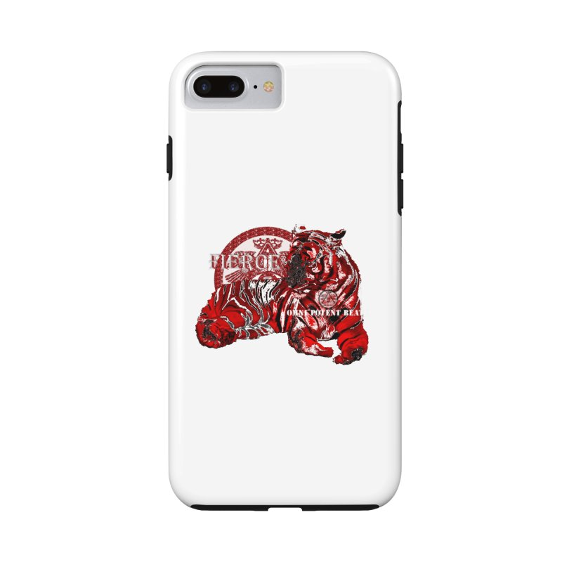 The Fierce in iPhone 7 Plus Phone Case Tough by OmniPotentBeatz's Shop