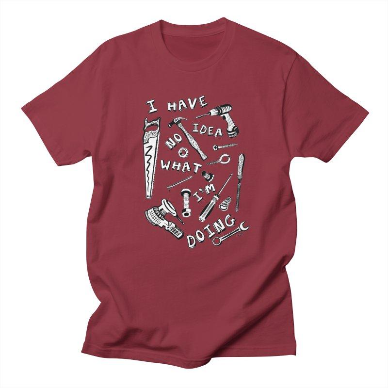 I Have No Idea What I'm Doing Men's T-Shirt by One Car Workshop Store