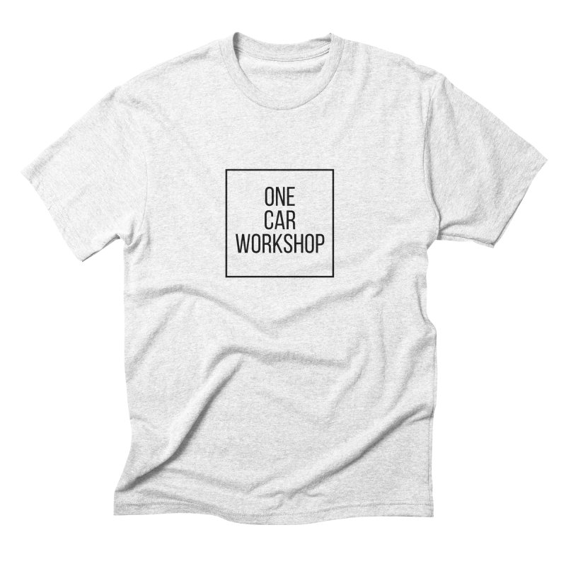 One Car Workshop Logo Black Men's Triblend T-shirt by One Car Workshop Store