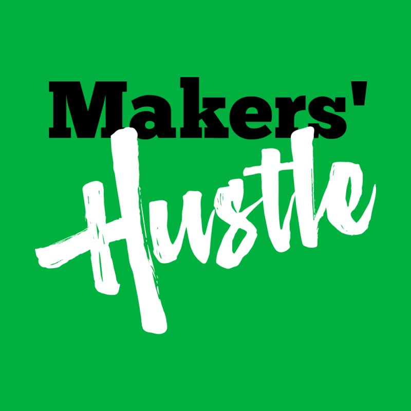 Makers' Hustle Women's V-Neck by One Car Workshop Store