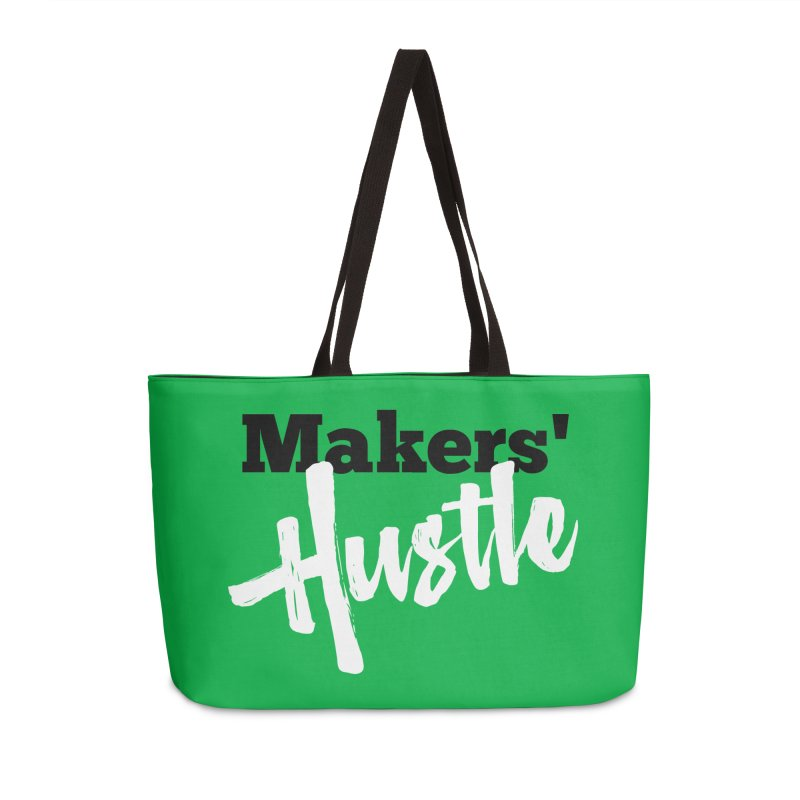 Makers' Hustle Accessories Weekender Bag Bag by One Car Workshop Store