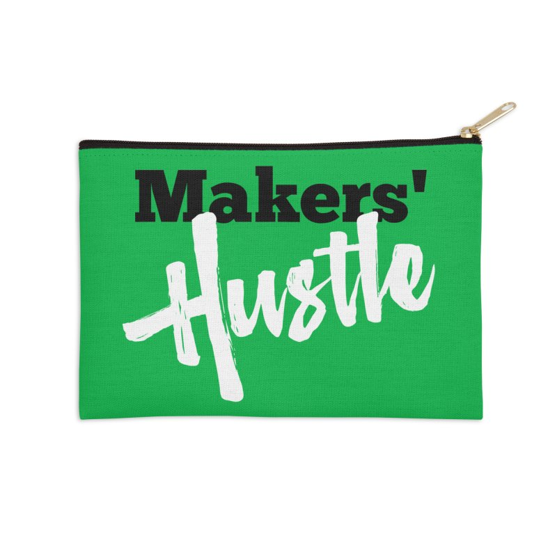 Makers' Hustle Accessories Zip Pouch by One Car Workshop Store
