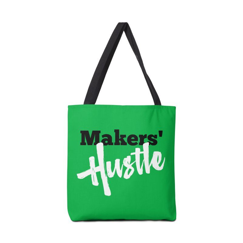 Makers' Hustle Accessories Tote Bag Bag by One Car Workshop Store