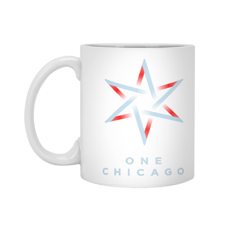 One Chicago Logo - Blue Accessories Standard Mug by One Chicago Shop