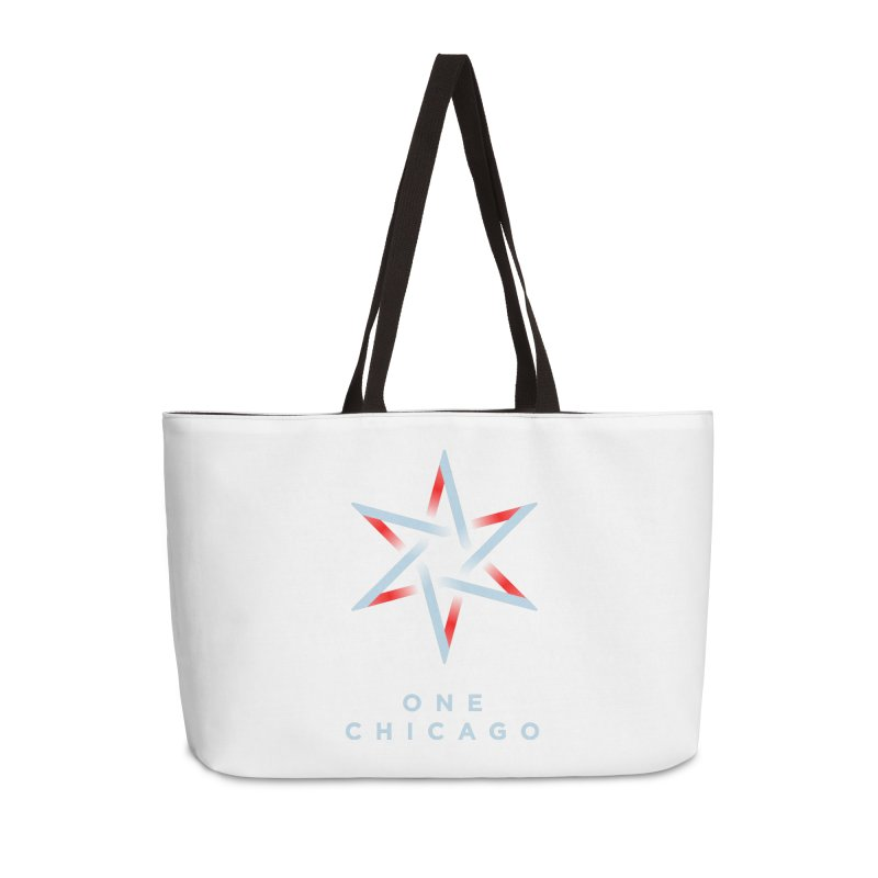 One Chicago Logo - Blue Accessories Weekender Bag Bag by One Chicago Shop