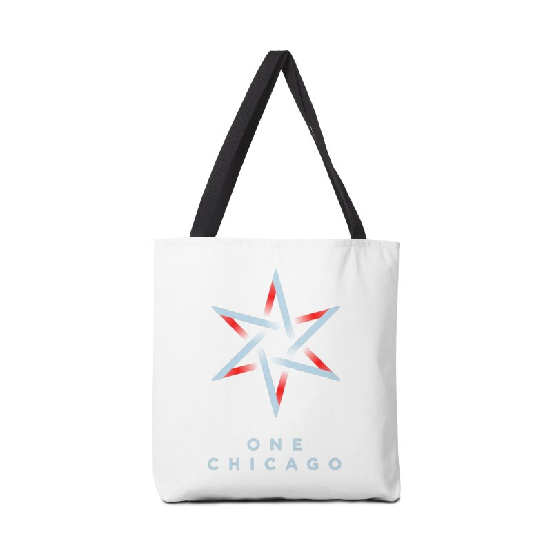 One Chicago Logo - Blue Accessories Tote Bag Bag by One Chicago Shop