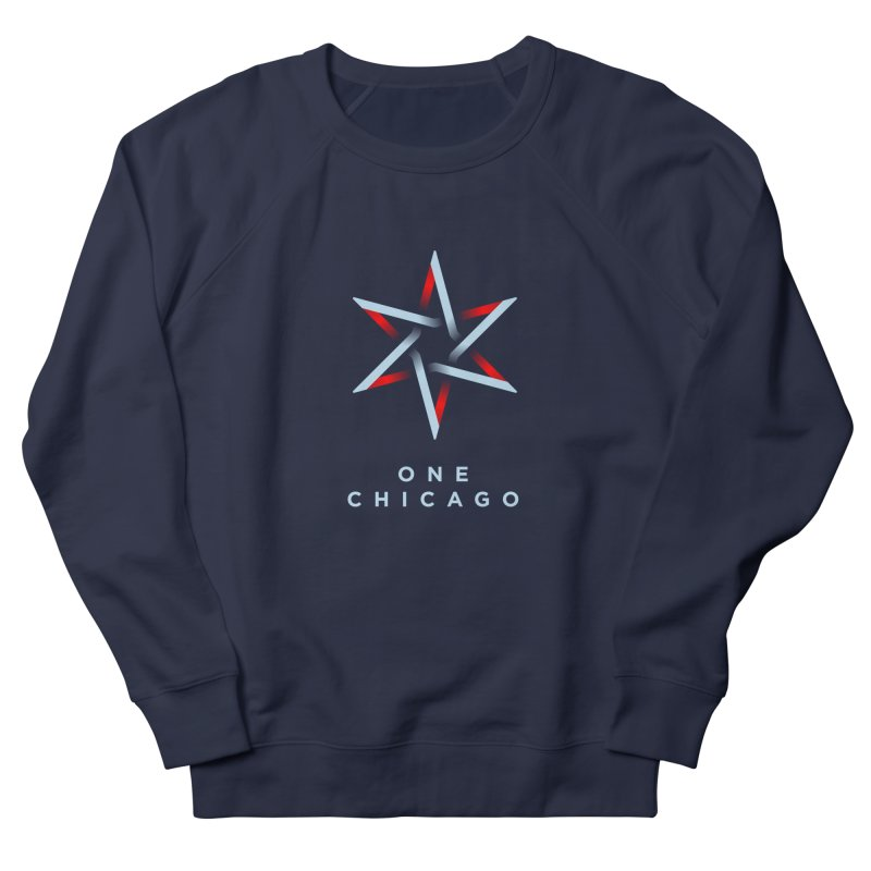 One Chicago Logo - Blue Women's French Terry Sweatshirt by One Chicago Shop