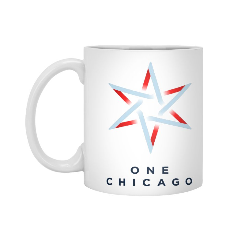 One Chicago Logo in Standard Mug White by One Chicago Shop
