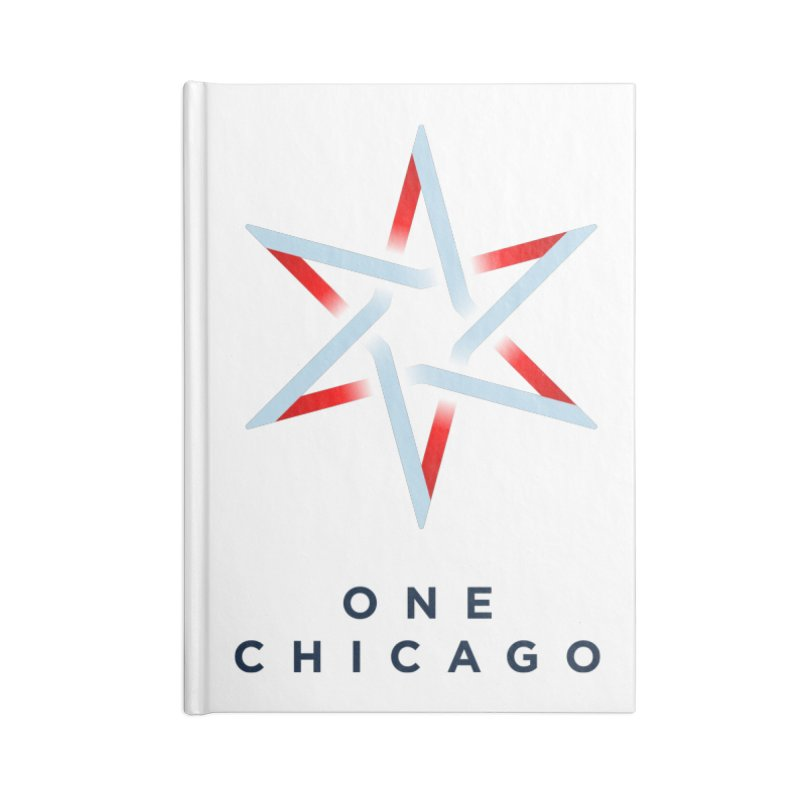 One Chicago Logo Accessories Blank Journal Notebook by One Chicago Shop