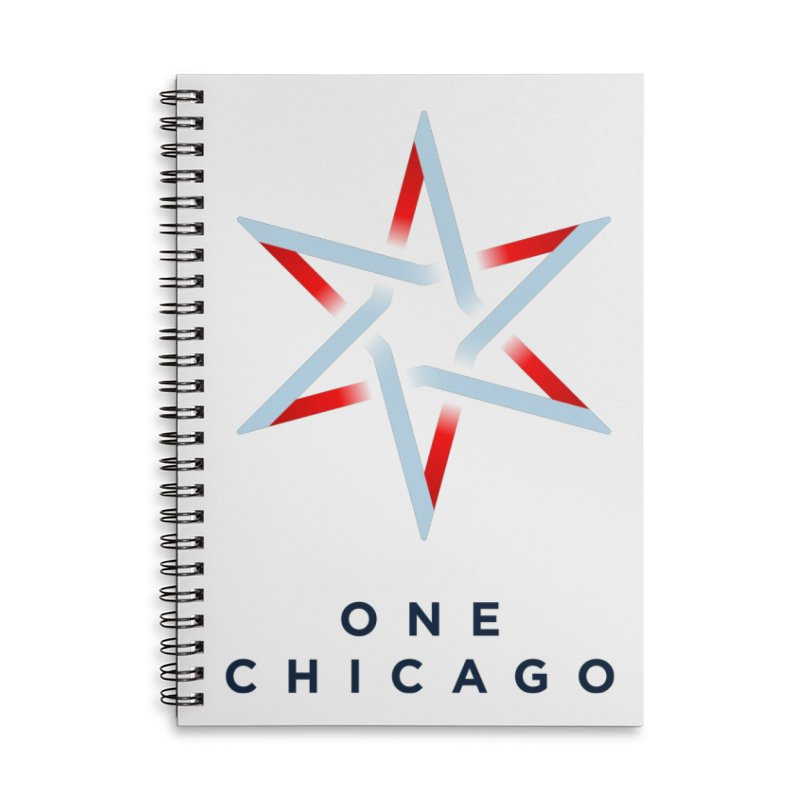 One Chicago Logo Accessories Lined Spiral Notebook by One Chicago Shop
