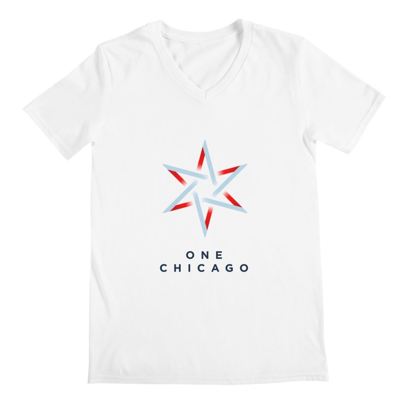 One Chicago Logo Men's Regular V-Neck by One Chicago Shop
