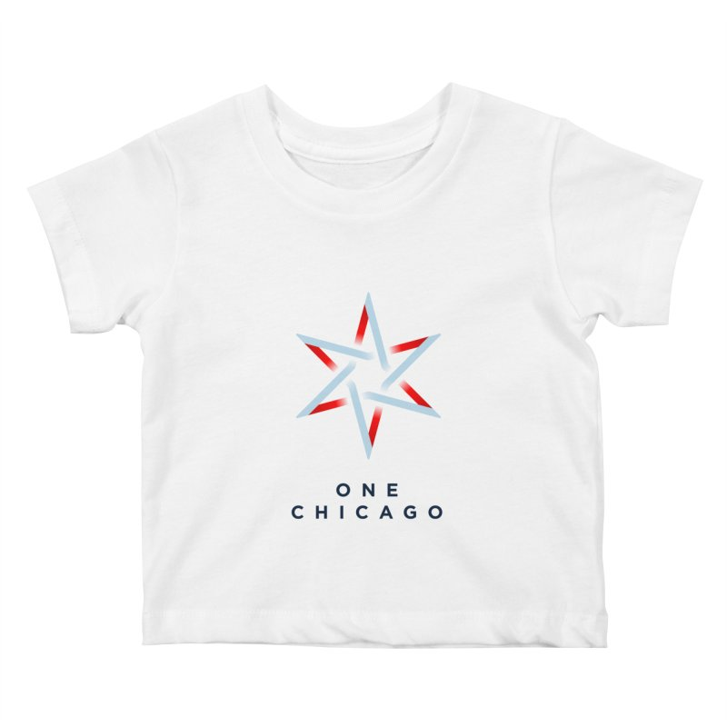 One Chicago Logo Kids Baby T-Shirt by One Chicago Shop