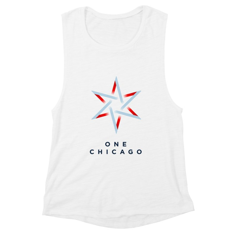 One Chicago Logo Women's Muscle Tank by One Chicago Shop