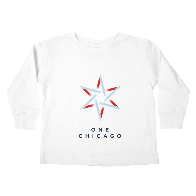 One Chicago Logo Kids Toddler Longsleeve T-Shirt by One Chicago Shop