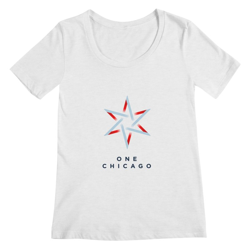 One Chicago Logo Women's Scoop Neck by One Chicago Shop
