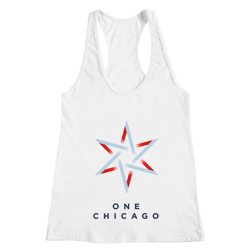 One Chicago Logo Women's Racerback Tank by One Chicago Shop
