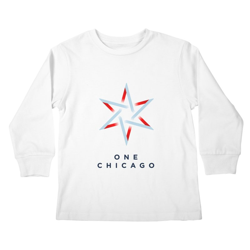 One Chicago Logo Kids Longsleeve T-Shirt by One Chicago Shop