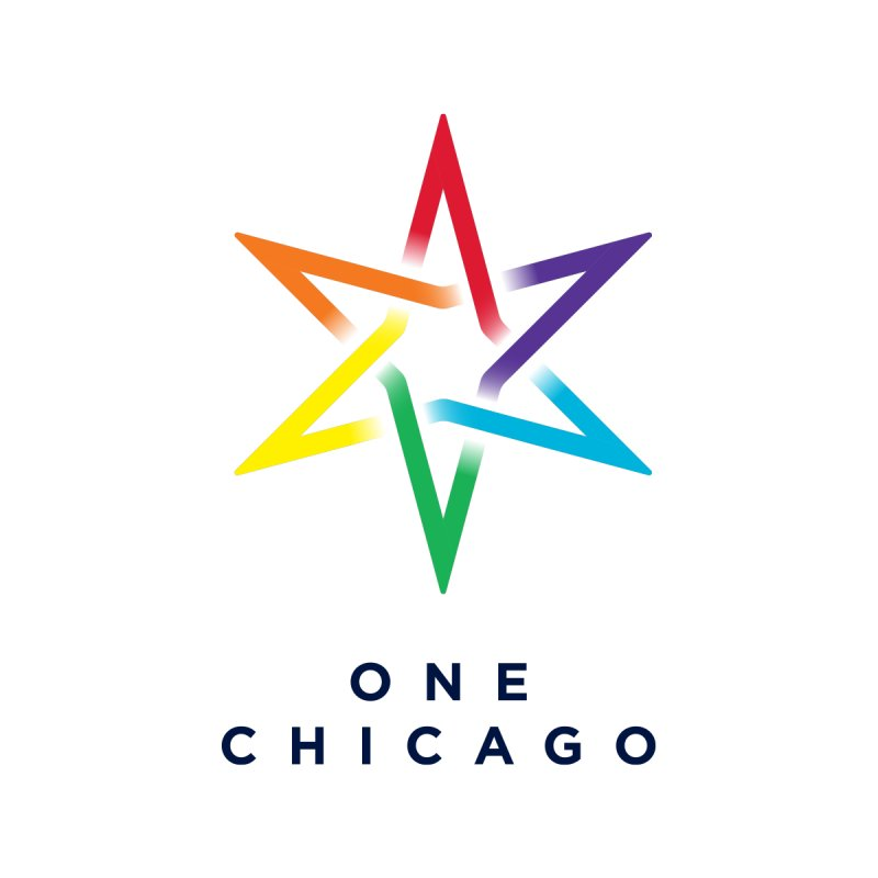 One Chicago - Pride Men's T-Shirt by One Chicago Shop