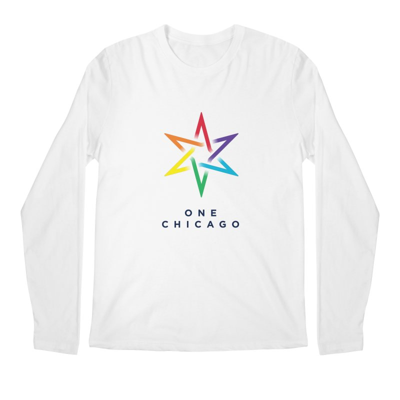 One Chicago - Pride Men's Regular Longsleeve T-Shirt by One Chicago Shop