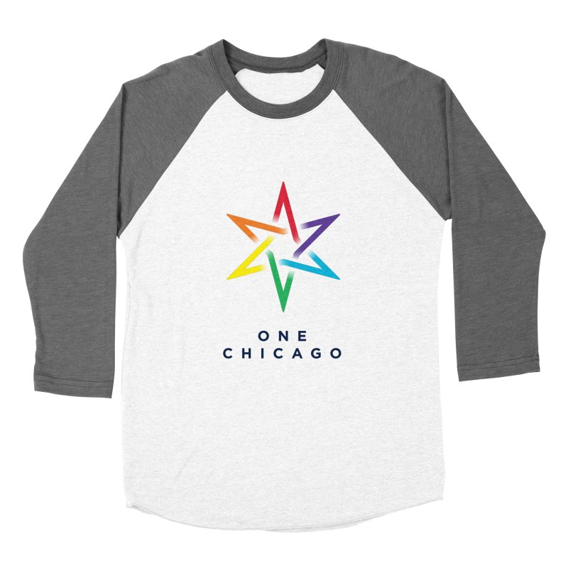 One Chicago - Pride Women's Baseball Triblend Longsleeve T-Shirt by One Chicago Shop