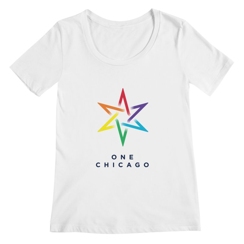 One Chicago - Pride Women's Regular Scoop Neck by One Chicago Shop
