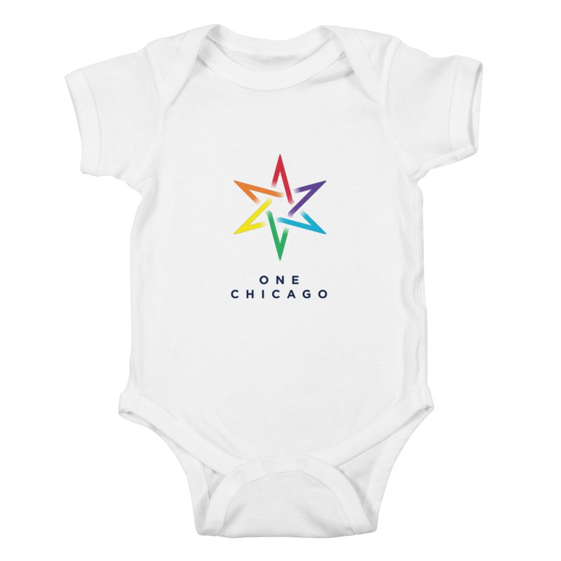 One Chicago - Pride Kids Baby Bodysuit by One Chicago Shop