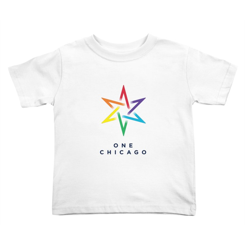 One Chicago - Pride Kids Toddler T-Shirt by One Chicago Shop