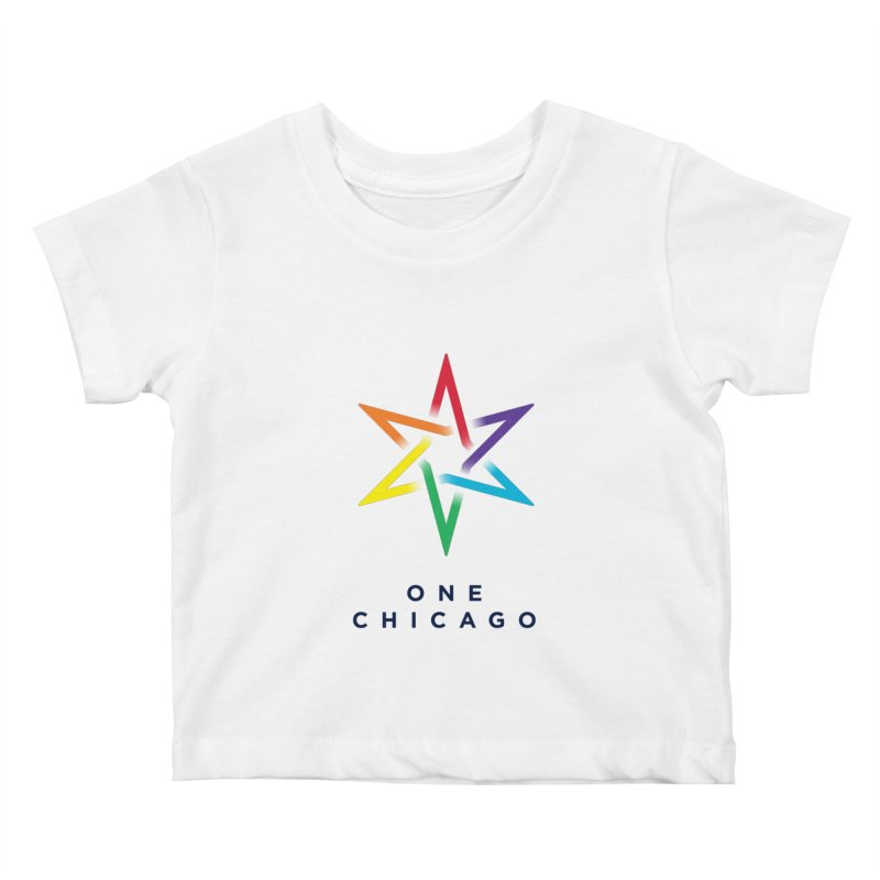 One Chicago - Pride Kids Baby T-Shirt by One Chicago Shop