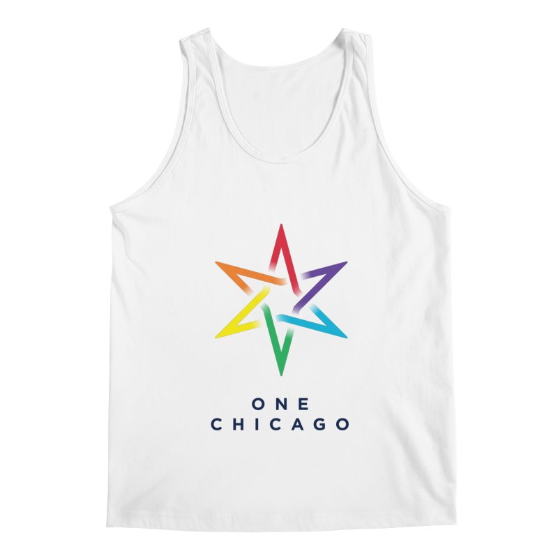 One Chicago - Pride Men's Regular Tank by One Chicago Shop