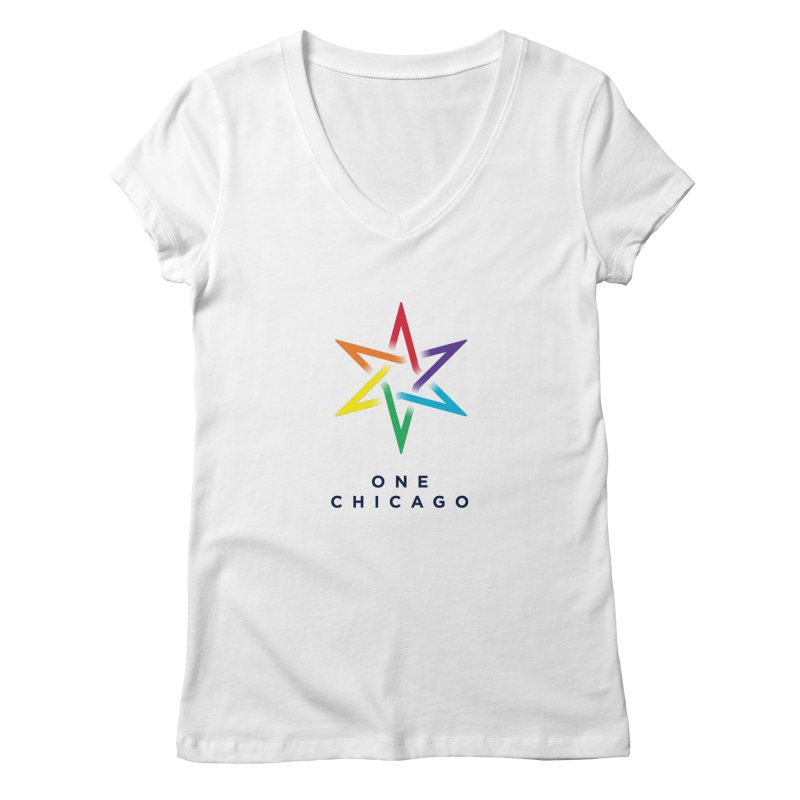 One Chicago - Pride Women's V-Neck by One Chicago Shop