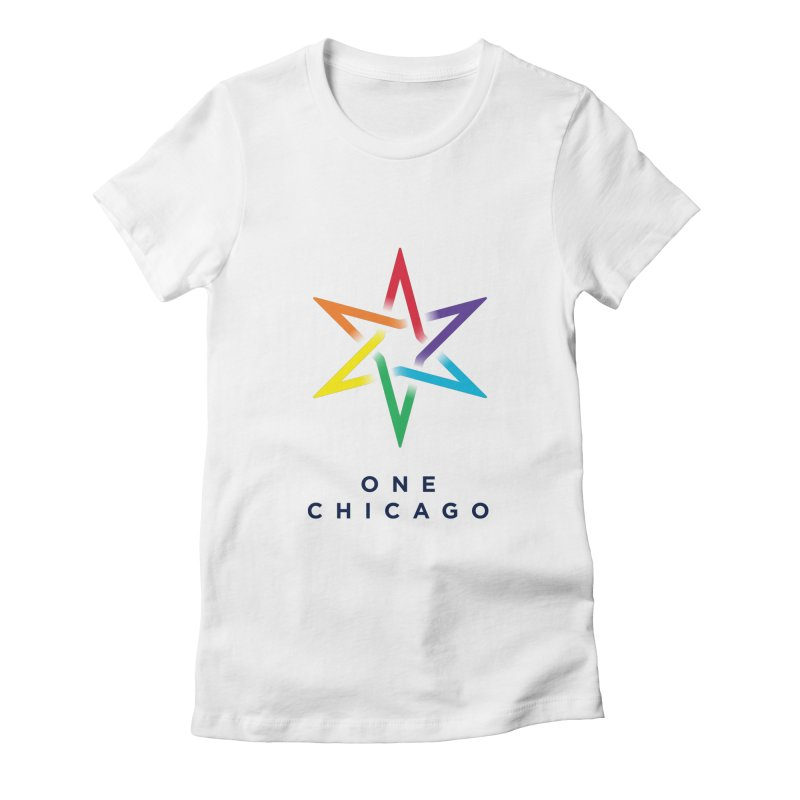 One Chicago - Pride Women's Fitted T-Shirt by One Chicago Shop