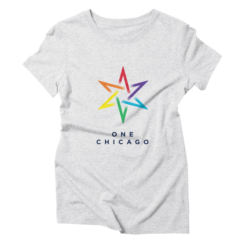 One Chicago - Pride Women's Triblend T-Shirt by One Chicago Shop