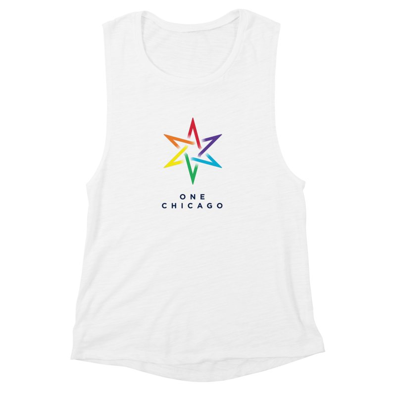 One Chicago - Pride Women's Muscle Tank by One Chicago Shop