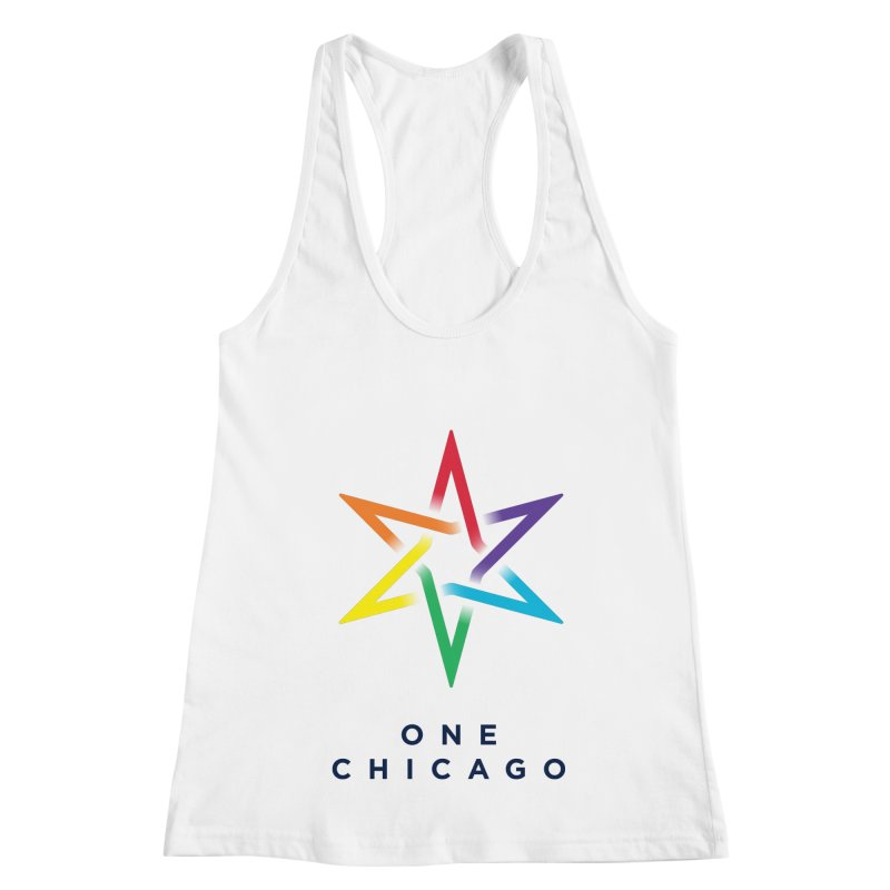 One Chicago - Pride Women's Racerback Tank by One Chicago Shop