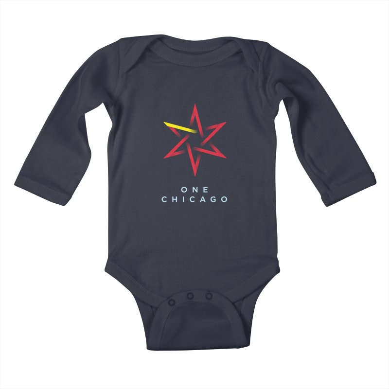 One Chicago - Chinese Kids Baby Longsleeve Bodysuit by One Chicago Shop