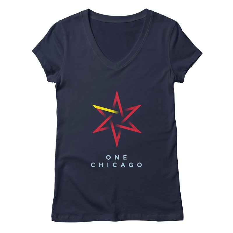 One Chicago - Chinese Women's Regular V-Neck by One Chicago Shop