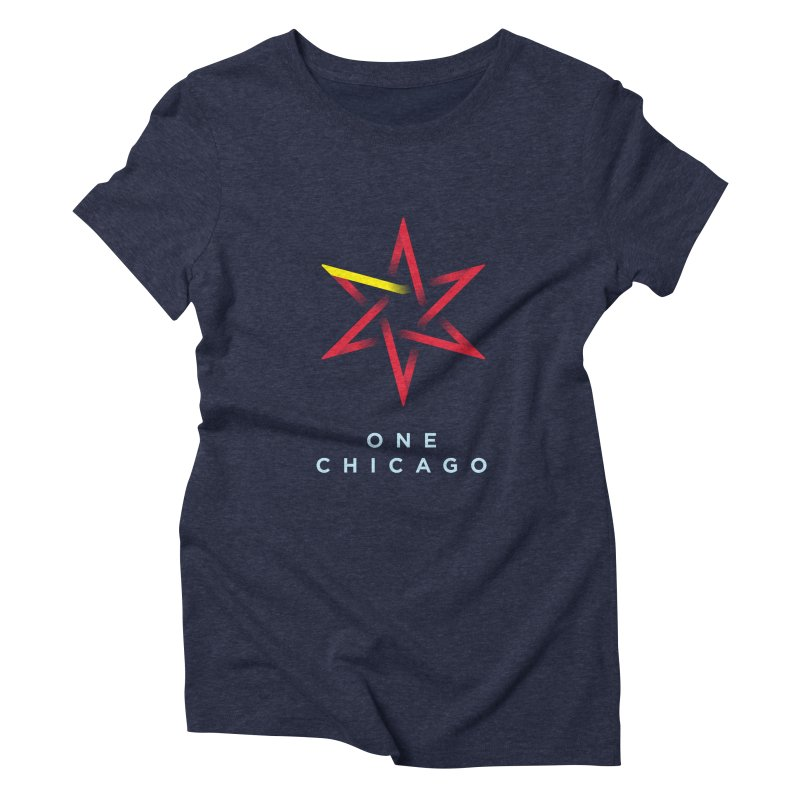 One Chicago - Chinese Women's Triblend T-Shirt by One Chicago Shop