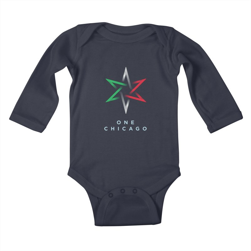One Chicago - Italian Kids Baby Longsleeve Bodysuit by One Chicago Shop