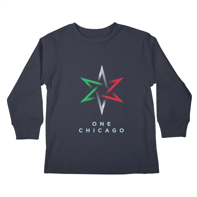 One Chicago - Italian Kids Longsleeve T-Shirt by One Chicago Shop
