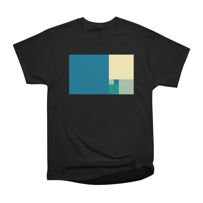 Golden blocks Men's Heavyweight T-Shirt by onedrop's Artist Shop