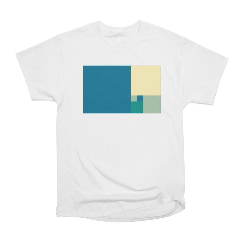 Golden blocks Women's Heavyweight Unisex T-Shirt by onedrop's Artist Shop