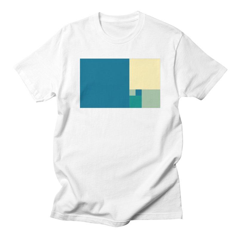Golden blocks Women's Regular Unisex T-Shirt by onedrop's Artist Shop