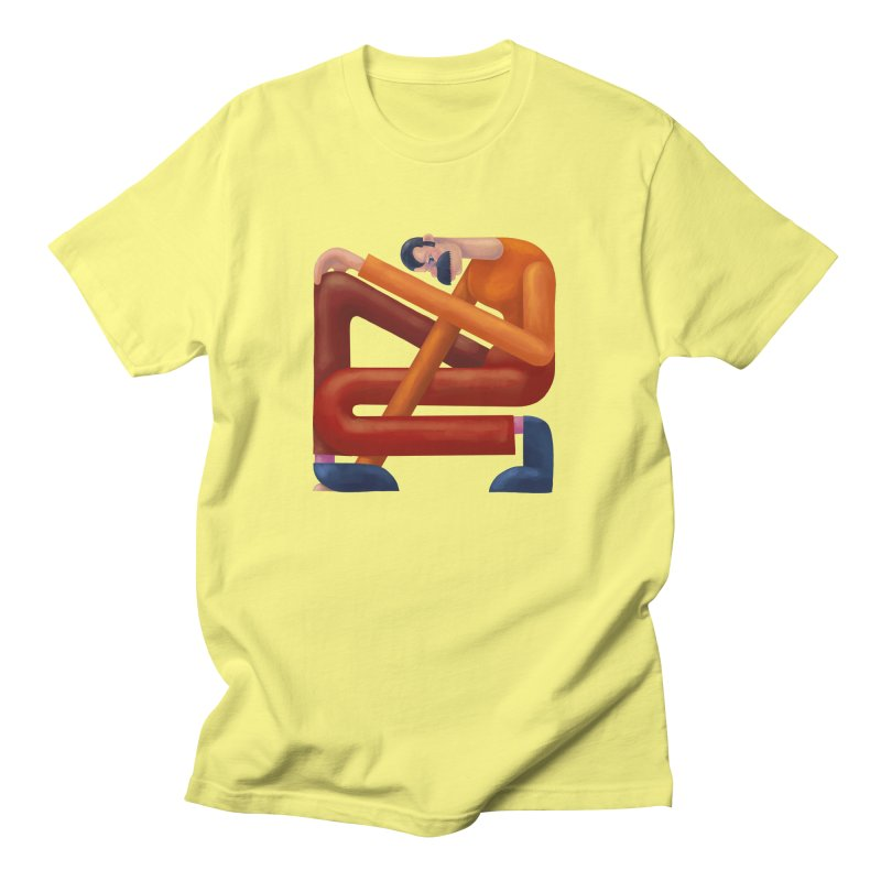Boxed in Men's T-Shirt by onedrop's Artist Shop